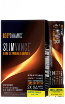 BODYDYNAMIX® SLIMVANCE® STICK PACKS CORE SLIMMING COMPLEX